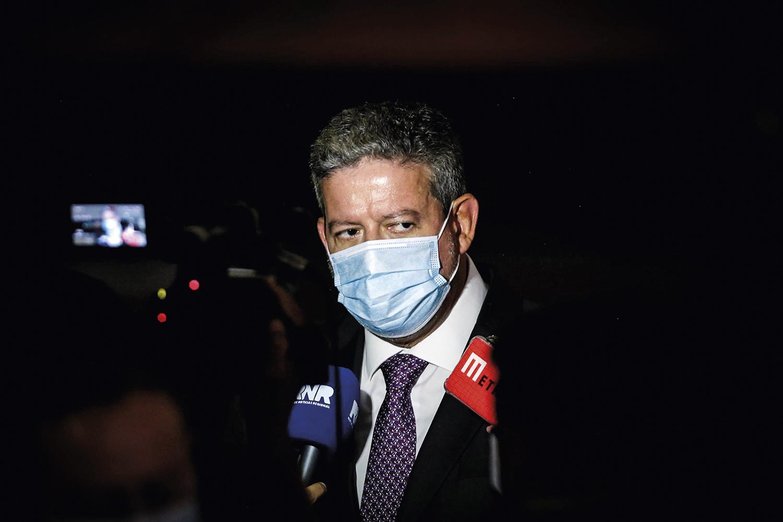LIDERANÇA -Lira, presidente da Câmara: ele passou a ditar a agenda -