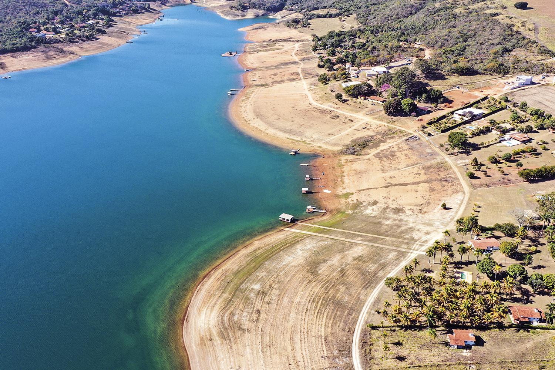 ESTIAGEM -Lago da Usina Hidrelétrica de Furnas: a perspectiva de risco energético é mais um problema no horizonte -