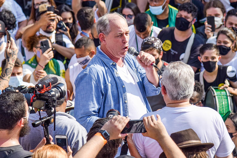ESTAGNADO - Ciro Gomes: campanha permanente que não se reflete nas pesquisas -