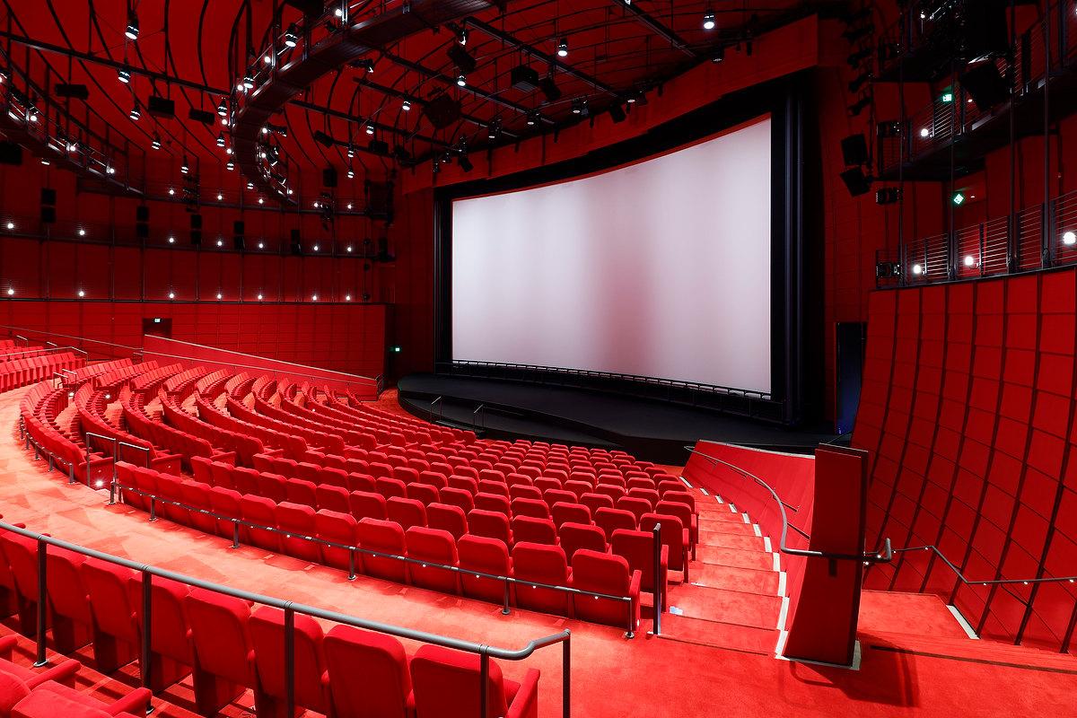 Sala de cinema do Academy Museum of Motion Pictures, em Los Angeles