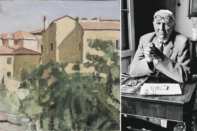 CHEIO DE MANIAS -Morandi e uma de suas paisagens abstratas: obsessão por controlar o que se dizia sobre seu trabalho -