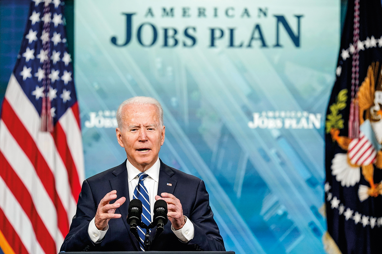 SOSSEGO -Biden: programa de ajuda adia busca de trabalho -