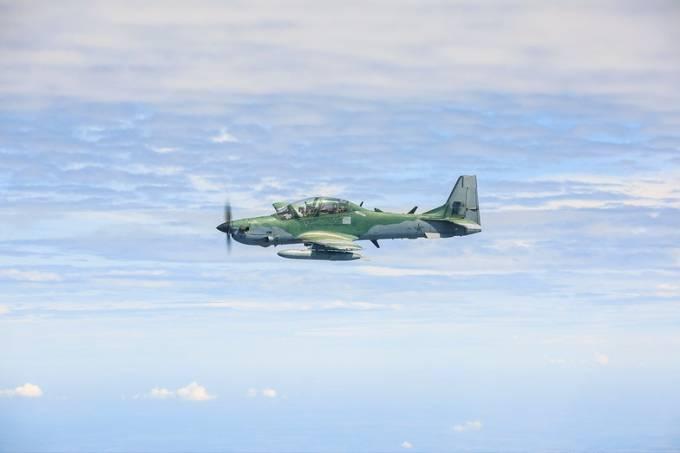 Aeronave A-29 Super Tucano da FAB