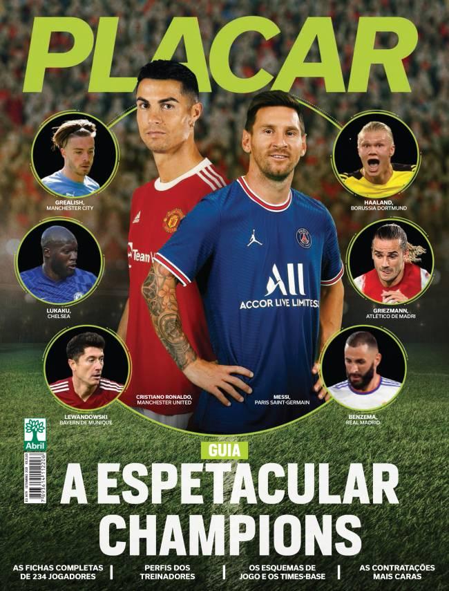 Guia Europeu da Revista Placar deste mês -