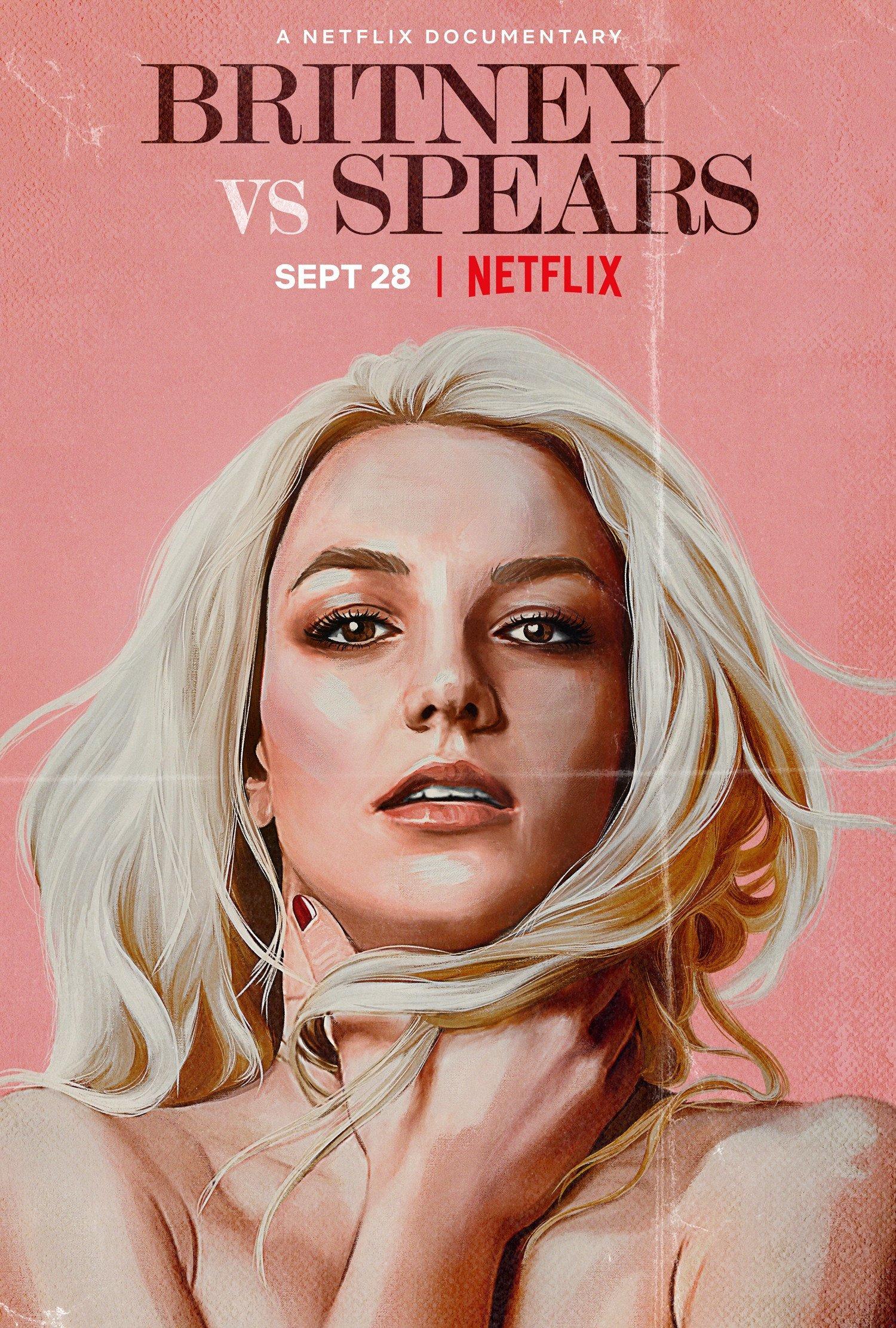 Pôster do documentário 'Britney X Spears'