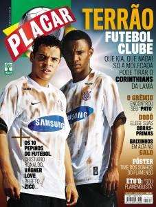 Capa da revista Placar, edição 1307, de Junho de 2007.