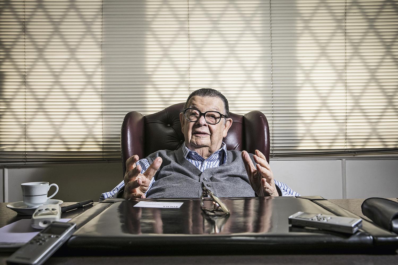 ANTONIO DELFIM NETTO, ex-ministro da Fazenda -