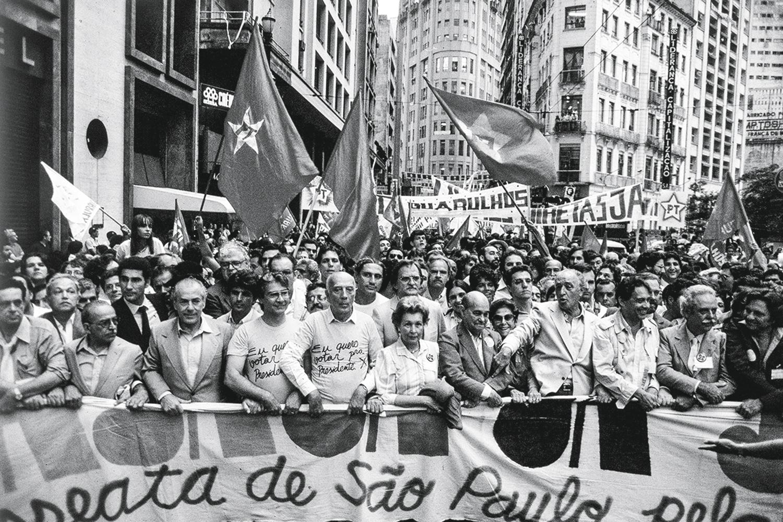 FRENTE AMPLA- Diretas Já: o desafio é criar uma aliança parecida com a de 1984 -