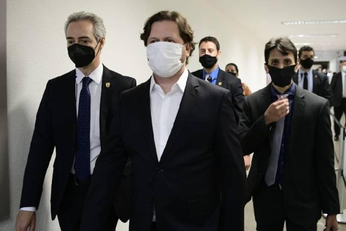 Danilo Trento chega ao Senado para depor à CPI da Pandemia – 23/09/2021 –