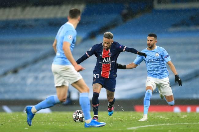 Manchester City e PSG se enfrentaram na última semifinal de Champions -
