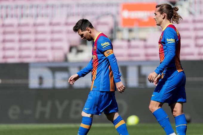 Lionel Messi e Antoine Griezmann deixaram o Barcelona de forma surpreendente