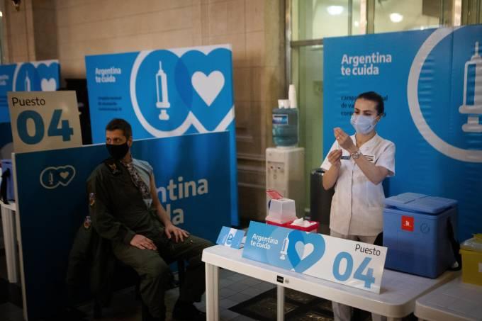 Coronavirus Vaccination In Argentina
