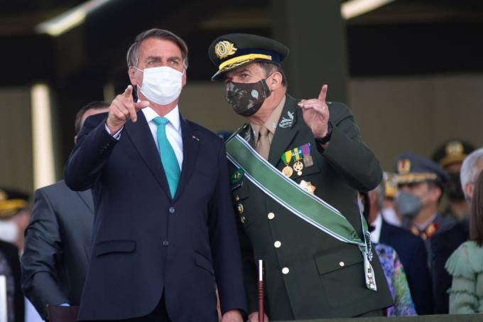 Bolsonaro Commemorates Day Of The Soldier
