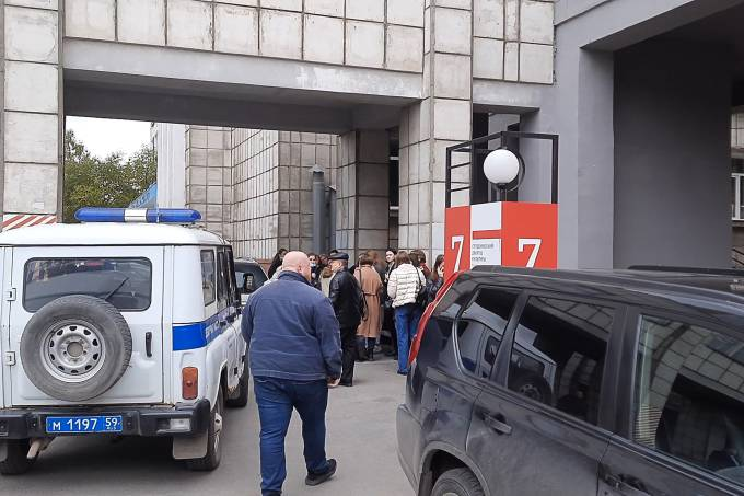 Shooting occurs at Perm State University in Russia