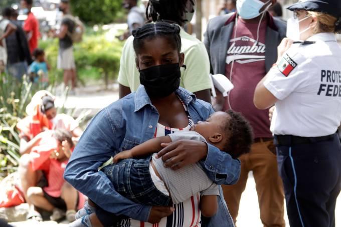 Haitians  Migrants Request Legal Asylum in Mexico