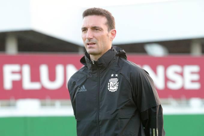 Argentina Training Session – Copa America Brazil 2021