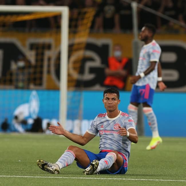Autor do primeiro gol da partida, Cristiano Ronaldo não conseguiu evitar a derrota do clube inglês -