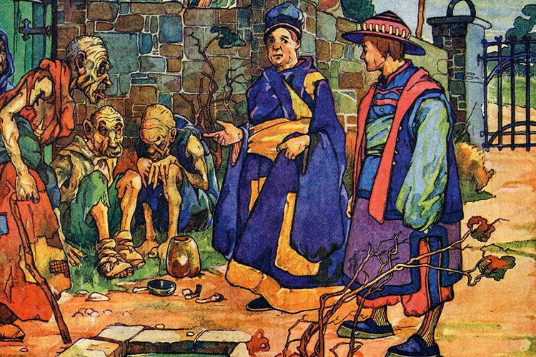 CLÁSSICO -Struldbrugs em As Viagens de Gulliver: condenados à imortalidade -