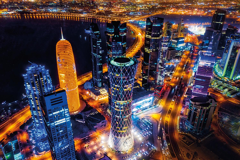 A OUTRA - Dubai Doha by night: arranha-céus, universidades e um arrojado Museu de Arte Islâmica -