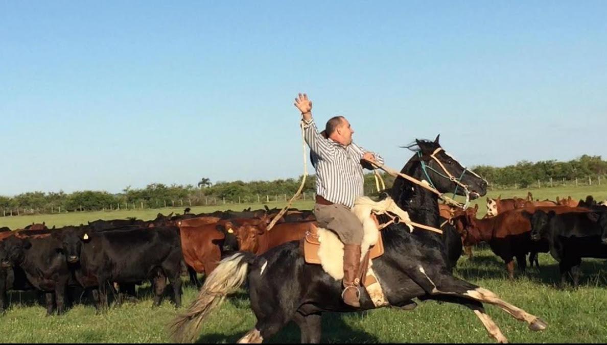 O prefeito de Cerro Grande do Sul, Gilmar João Alba (PSL), conhecido como Gringo Loco