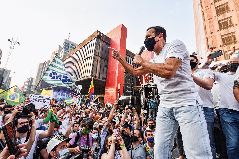 FAVORITO -Doria: o governador disputará as prévias e deve ser o nome do PSDB -