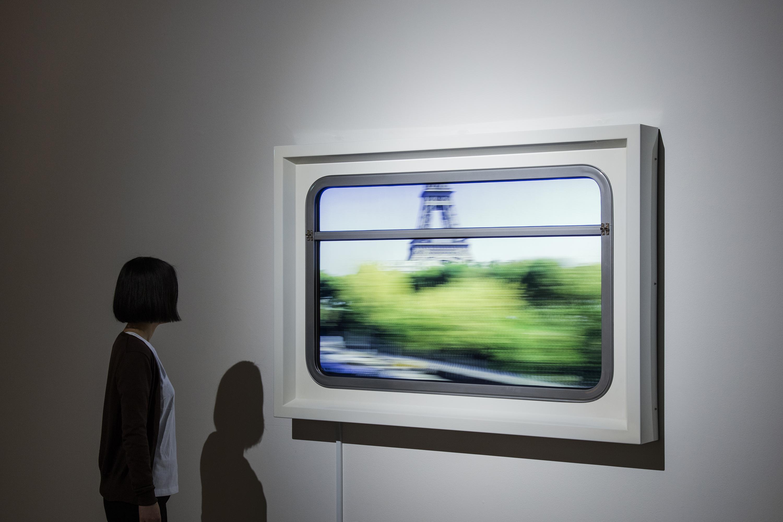 Instalação 'Global Express', de Leandro Erlich -