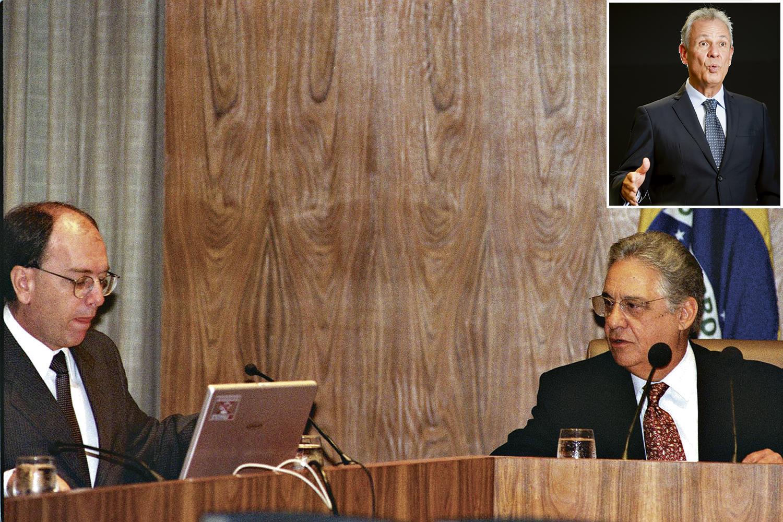 ONTEM E HOJE- Pedro Parente, FHC e Bento Albuquerque: medidas impopulares postergadas a todo custo -
