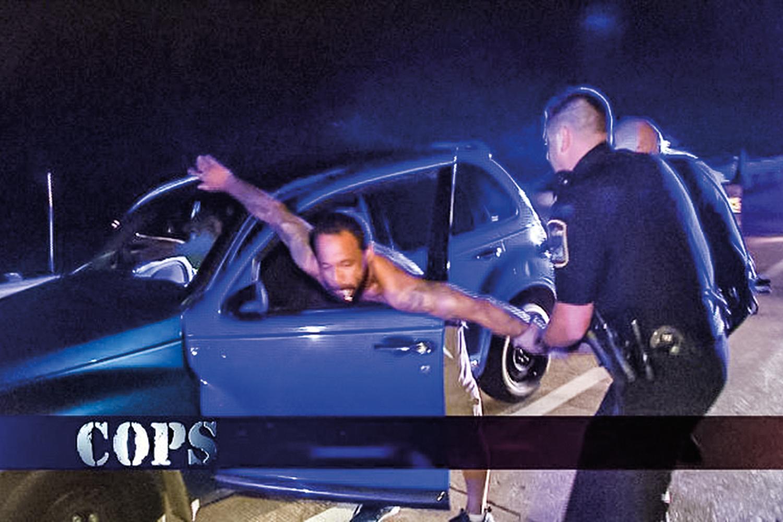 A ORIGEM -Cena de Cops: o reality show americano ficou no ar por trinta anos -