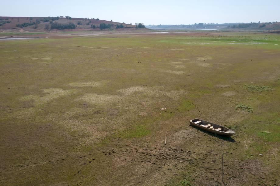 Vista aérea da região de Fama/MG -