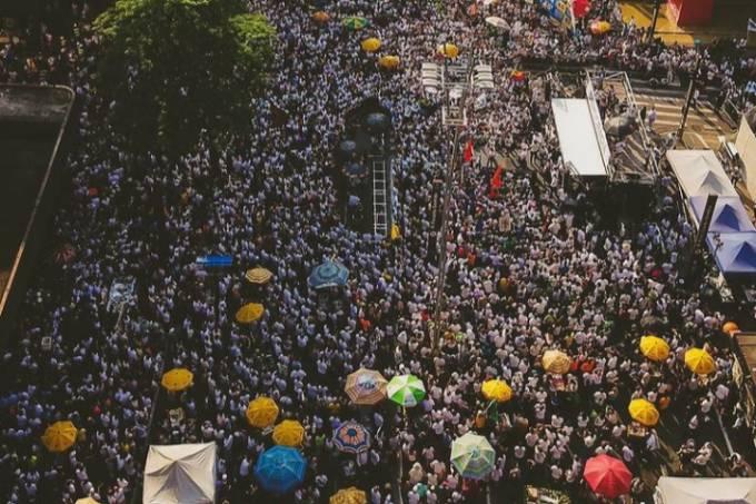 Manifestação Ato contra governo Bolsonaro e a favor do impeachment, na Avenida Paulista, em São Paulo (SP) – 12.09.2021