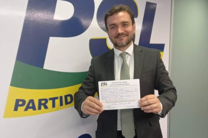 Deputado federal Celso Sabino: de saída do PSDB, assinou filiação ao PSL nesta quarta – 15.09.2021