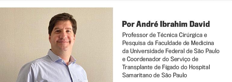 O médico André David -