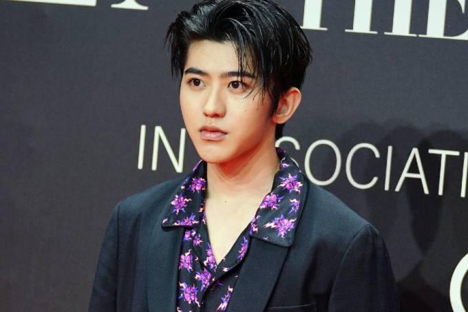 O cantor chinês Cai Xukun