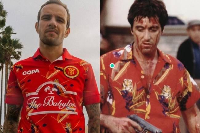 Camisa inspirada no personagem Tony Montana. de Scarface