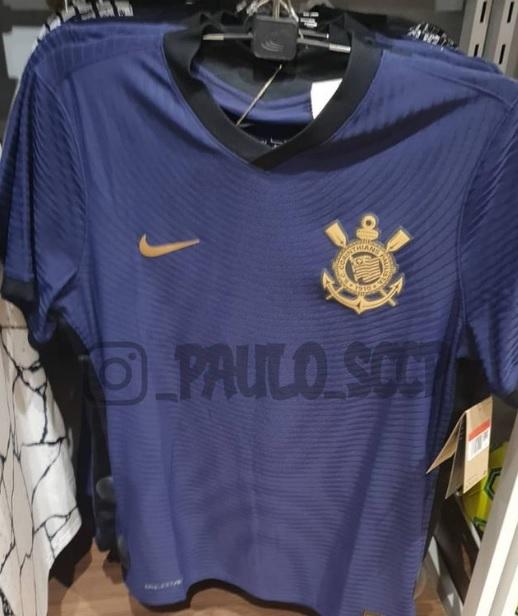 Nova camisa 3 do Corinthians