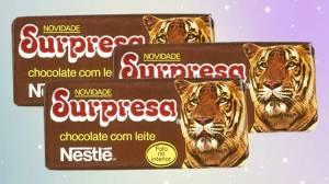 Chocolate surpresa, da Nestlé -