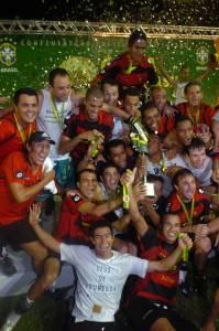 Sport bateu o Corinthians e foi campeão da Copa do Brasil de 2008 -