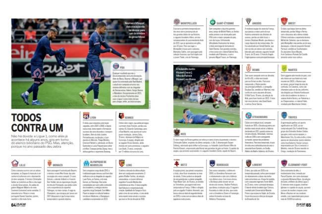 Ligue 1 em alta: as fichas dos 20 times participantes