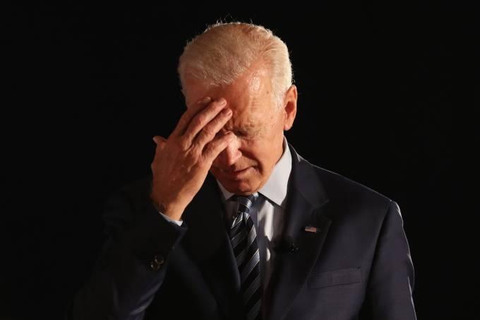 Joe Biden: aprovação em baixa após fim da Guerra no Afeganistão