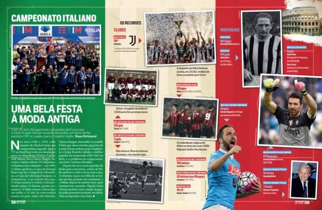 Apresentação do Campeonato Italiano, antes da descrição de cada uma das 20 equipes participantes