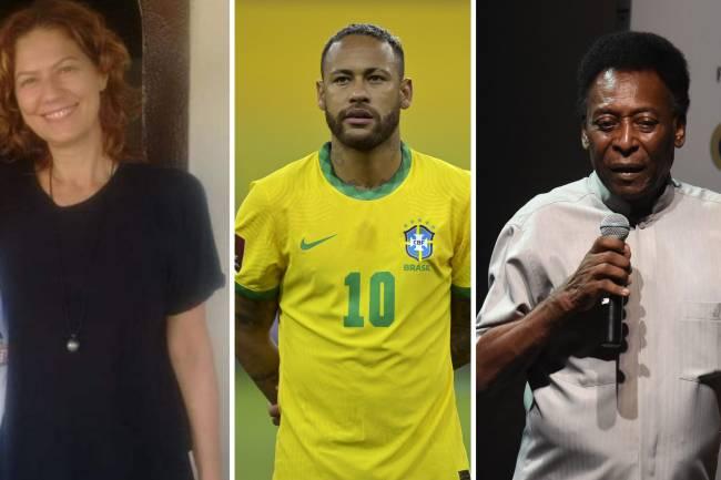 Patrícia Pillar e Neymar protagonizaram discussão nas redes sociais -