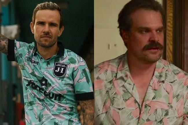 Camisa inspirada no personagem Jim Hooper, de ´Stranger Things'