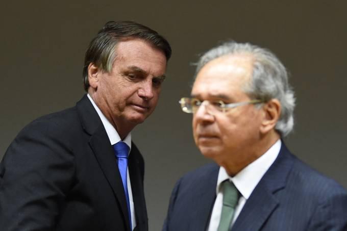 BRAZIL-POLITICS-BOLSONARO-GUEDES