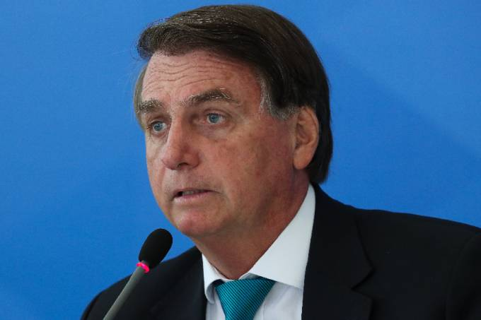 O presidente Jair Bolsonaro – 06/10/2021 –