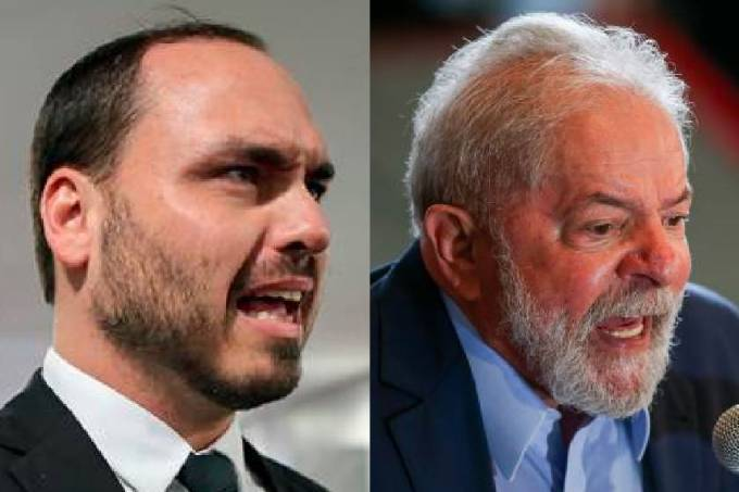 Carlos Bolsonaro e Lula