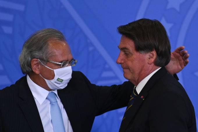 Brazil's President Jair Bolsonaro Attends The Ceremony Referring To The Modernization Of Labor Regulatory Standards