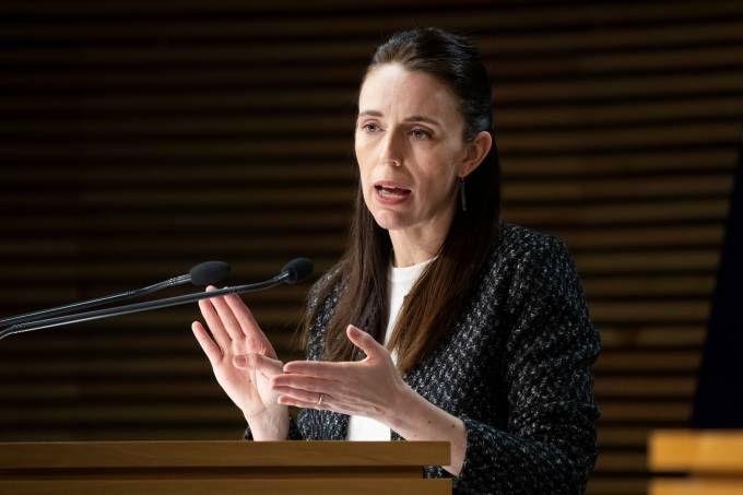 Prime Minister Jacinda Ardern Announces Plans For Easing Of Auckland's COVID-19 Restrictions