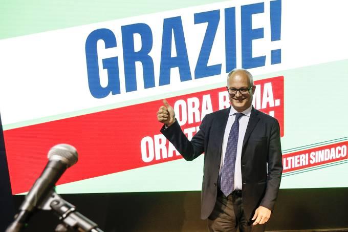 Roberto Gualtieri claims victory as new Rome Mayor