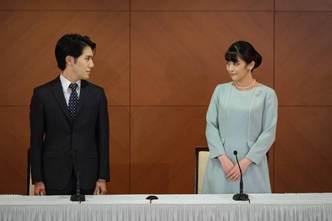 Princess Mako Of Japan Marries Kei Komuro
