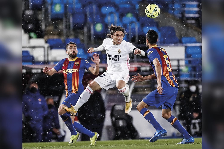 FORÇAS -Barcelona e Real: dominantes -